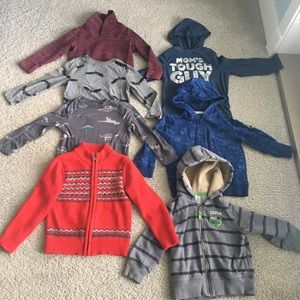 4T Sweater / Long Sleeve T Bundle